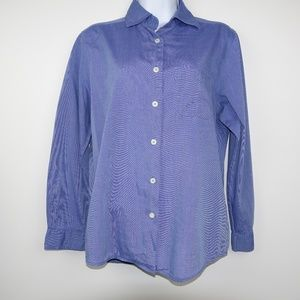 United Colors Of Benetton Chambray Top Blouse